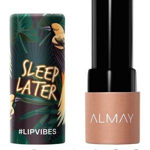 "💄🌴 Lip Vibes ""Sleep Later"" Cream Lipstick Almay"